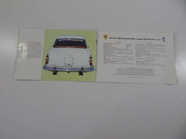Ferrari 250 GTE Sales Brochure