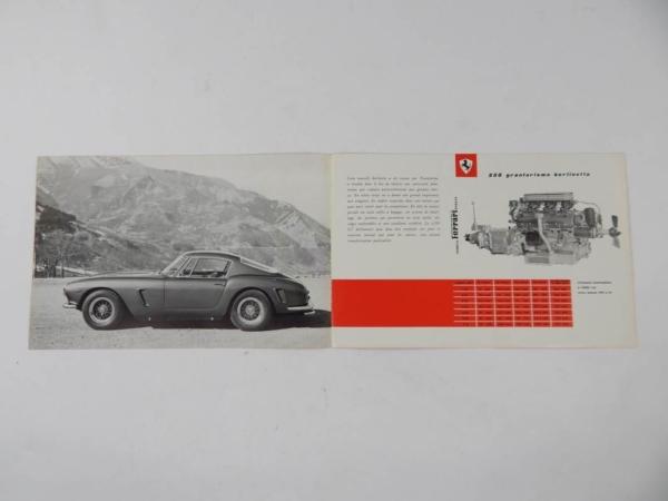 Ferrari 250 Granturismo Berlinetta SWB Sales Brochure French
