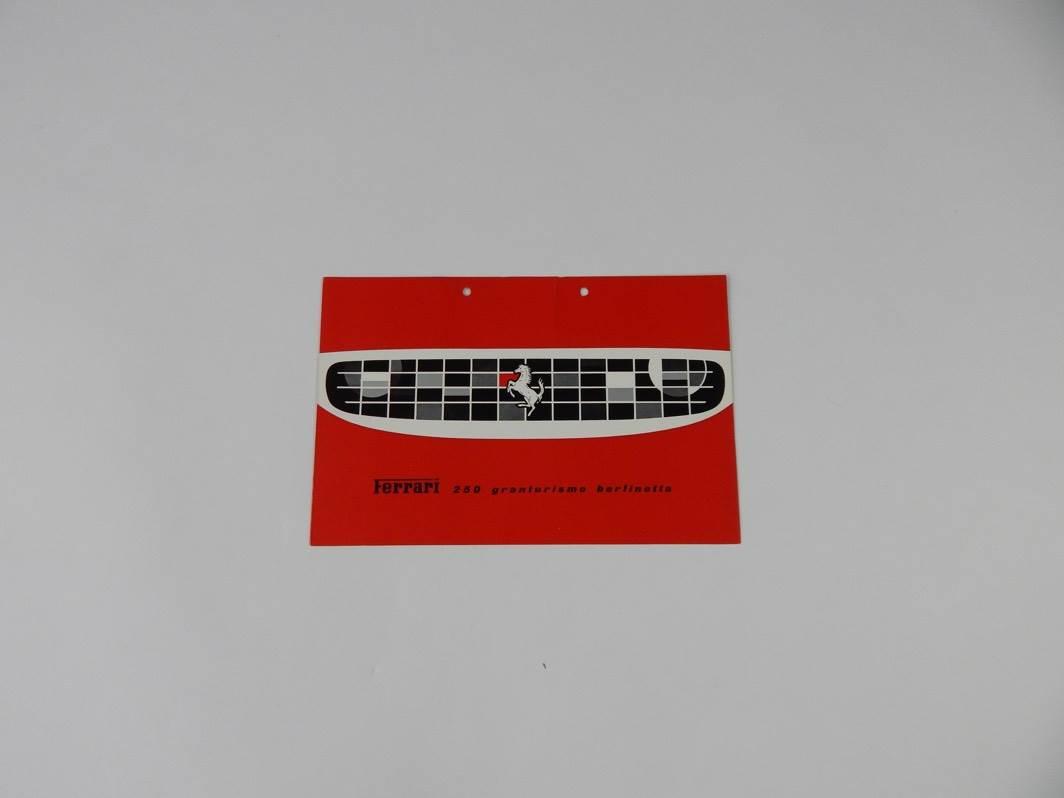 Ferrari 250 Granturismo Berlinetta SWB Sales Brochure Italian