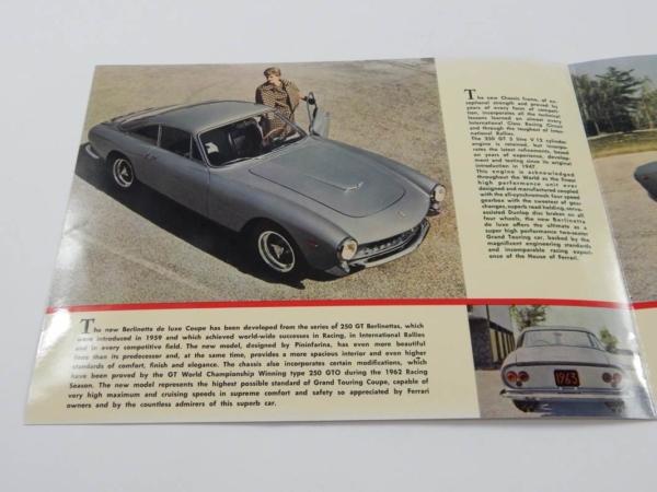 Ferrari 250 Lusso Sales Brochure