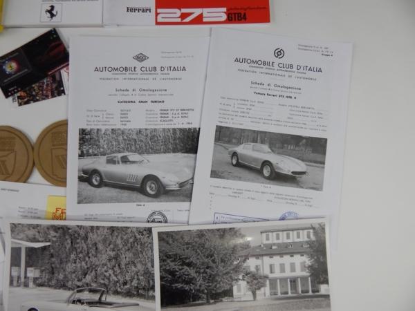 Ferrari 275 FCA 2016 Manuals