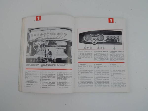 Ferrari 275 GTB GTS Owner's & Parts Manual Handbook