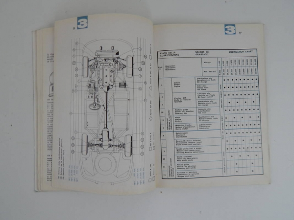 Ferrari 330 GTC Owner's & Parts Manual Handbook