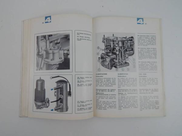 Ferrari 330 GTC Owner's & Parts Manual Handbook