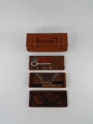 Ferrari 348 355 Complete Tool Kit Schedoni Leather Case