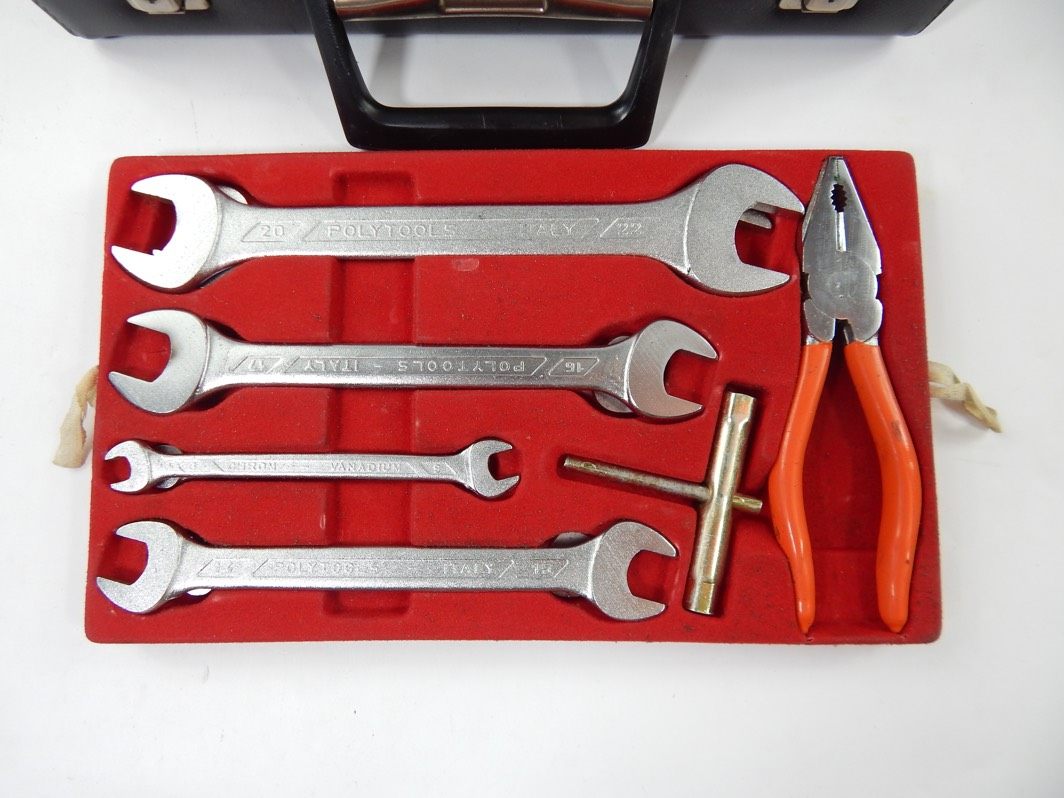 Ferrari 365 400 512 Daytona Complete Briefcase Attaché Tool Kit