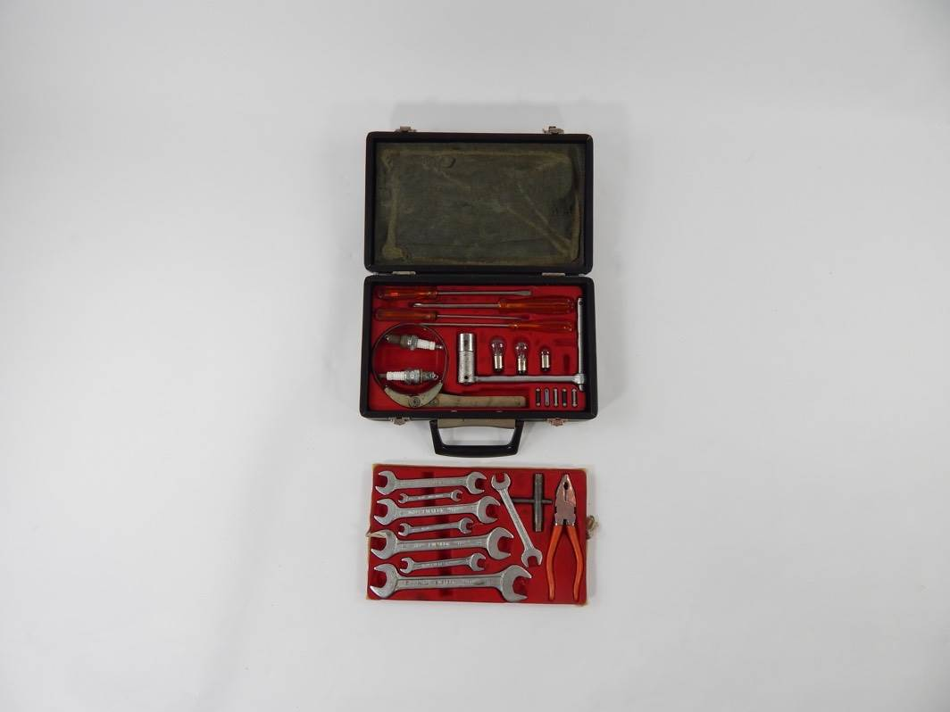 Ferrari 365 400 512 Daytona Complete Briefcase Attaché Tool Kit