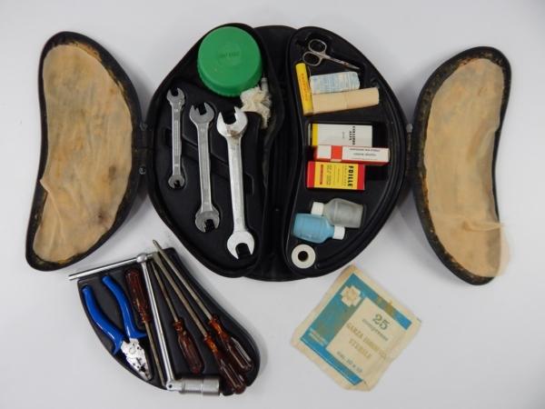 Ferrari 365 400 Briefcase Round Case Complete Tool Kit
