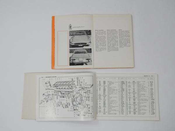 Ferrari 365 GT 2+2 Owner's & Parts Manual
