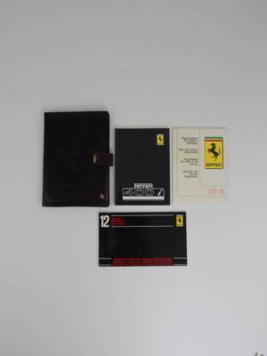 Ferrari 400 Complete Pouch & Manual Set