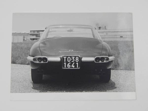 Ferrari 400 SA Press Photograph