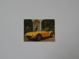 Ferrari 410 SA 375 MM Postcard Pamphlet Brochure