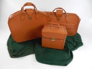 Ferrari 456 Schedoni Leather Luggage Set