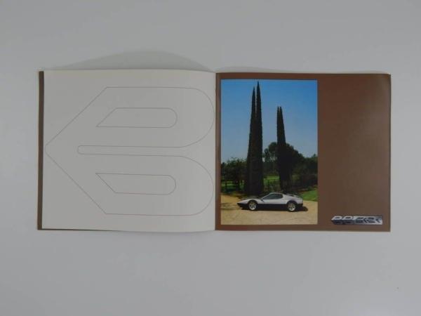 Ferrari 512BBi Sales Brochure