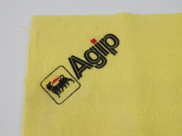 Ferrari AGIP Duster Tach Cloth