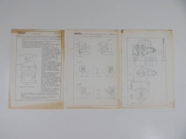 Ferrari Blueprint Sheets