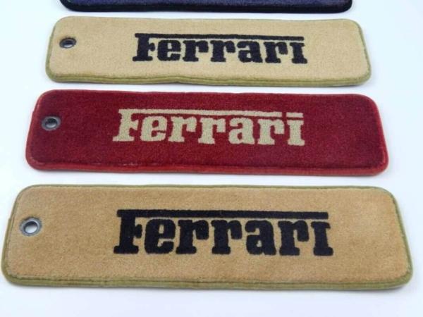 Ferrari Carpet Samples