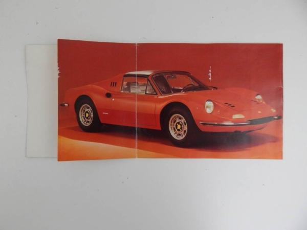 Ferrari 246 GT Brochure 1969
