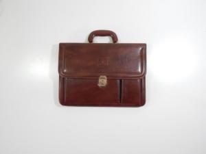 Ferrari Cartier Leather Briefcase