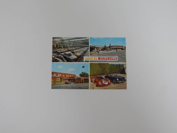 Ferrari 1960s Maranello Postcard