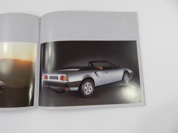 Ferrari Mondial Cabriolet Sales Brochure