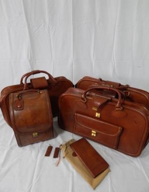 Ferrari Mondial 4 Piece Schedoni Leather Luggage Set
