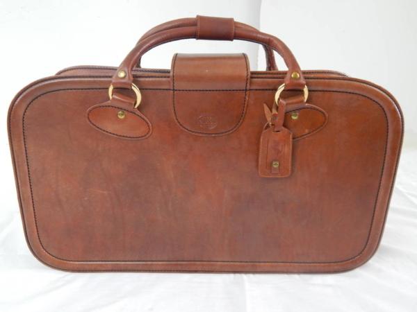 Ferrari Mondial Schedoni Leather Luggage Bags