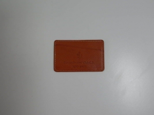 Ferrari Owner's Club Schedoni Leather Card Holder