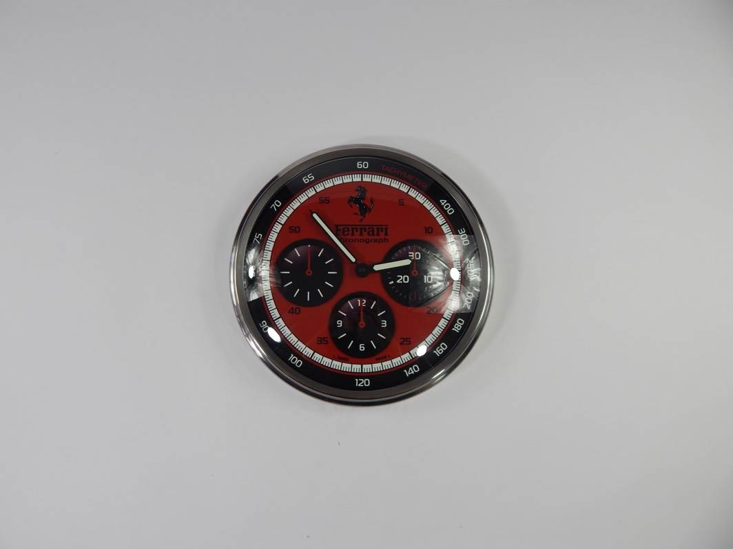Ferrari Panerai C Dealer Clock