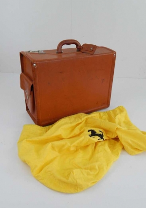 Ferrari Schedoni Pilot's Travel Case Luggage Piece