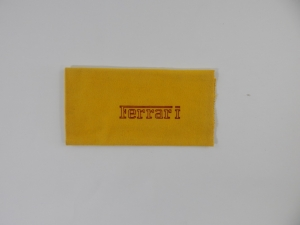 Ferrari Shell Tach Cloth Duster 1970s 250 275 330 Dino 365 Daytona