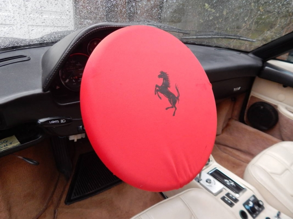Ferrari Steering Wheel Cover