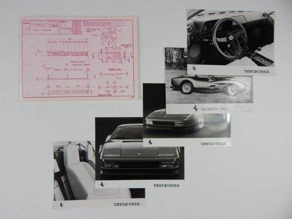 Ferrari Testarossa Press Pack