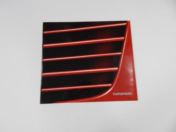 Ferrari Testarossa Sales Brochure