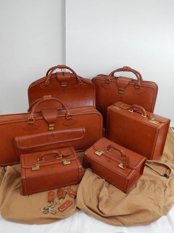 Ferrari Testarossa 6 Piece Complete Schedoni Luggage Set TR