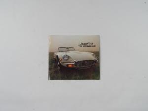 Jaguar E-Type Sales Brochure
