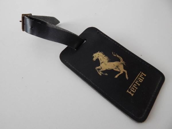 Ferrari Luggage Tag