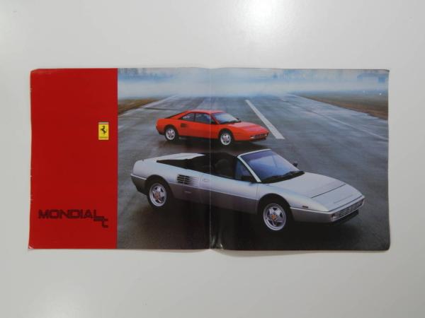 Ferrari Mondial T Sales Brochure