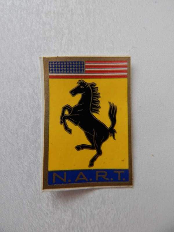 Ferrari 1960s NART Sticker Decal