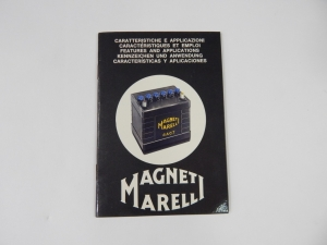Rare Original Magneti Marelli Battery Manual Ferrari 250 LM 275 330