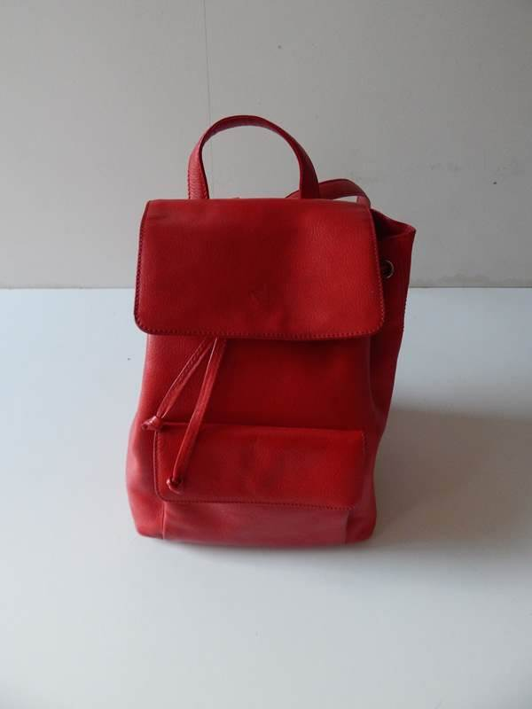 Ferrari Schedoni Leather Backpack Rucksack