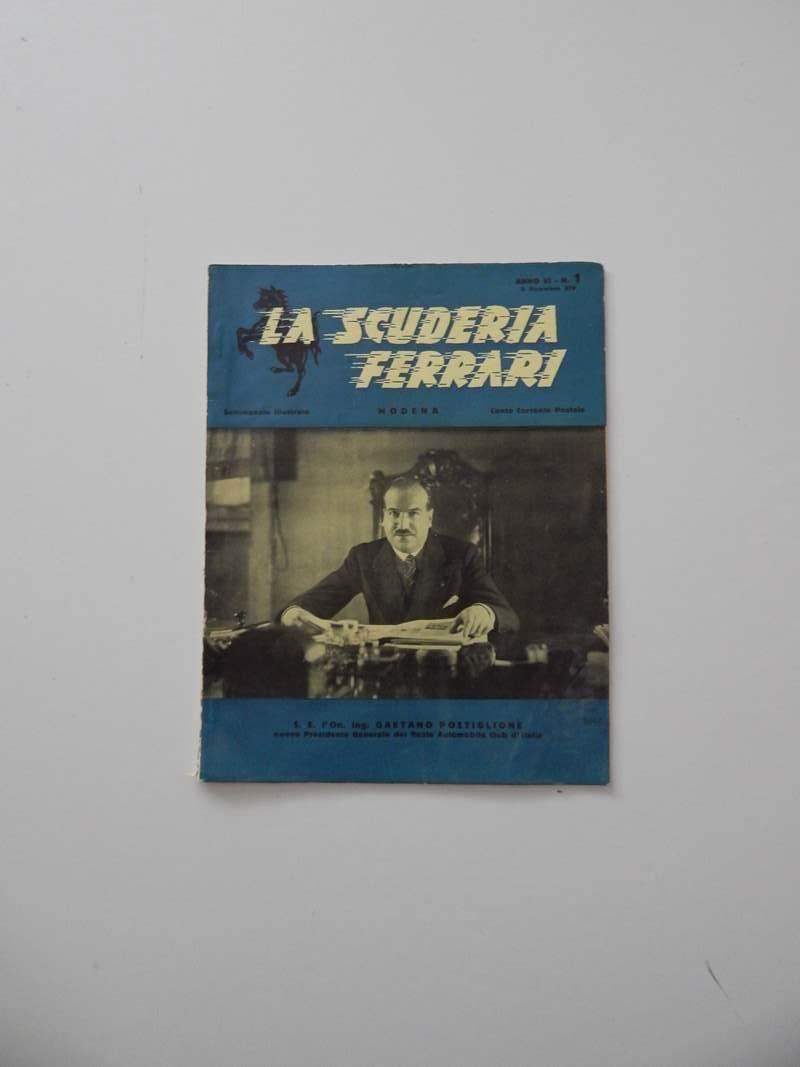 Scuderia Ferrari Magazine 1930s