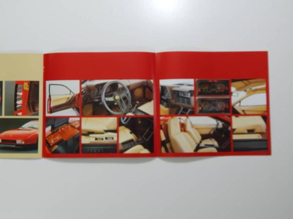 Original Ferrari Testarossa Sales Brochure